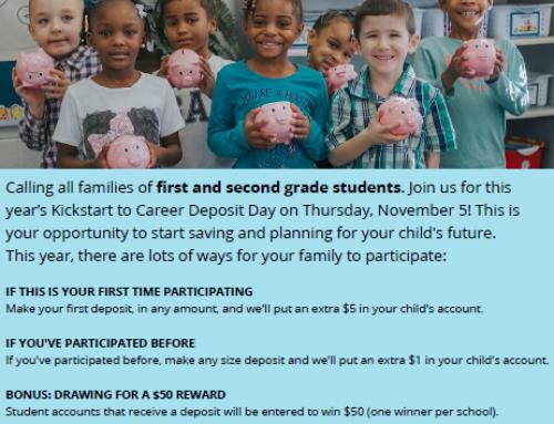 KickStart to Career Deposit Day 2020
