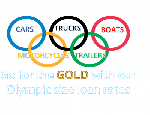 Go for the GOLD with our Olympic size loan rates!